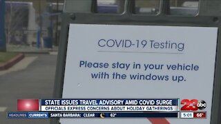 Newsom issues travel advisory in response to growing COVID-19 cases