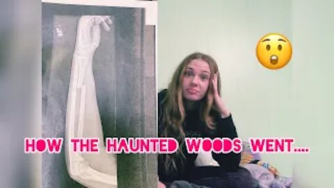 How the Haunted Woods went....*yikes* | Gabby's Gallery