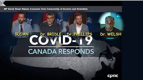 2021 JUN 17 Derek Sloan MP raises concerns on COVID 19 Vaccine censorship of doctors and scientists