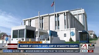 Number of COVID-19 cases jump in Wyandotte County