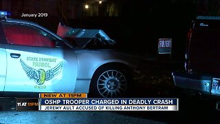 Ohio state trooper charged with vehicular manslaughter, homicide