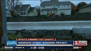 What's driving you crazy: Work on Harrison Street