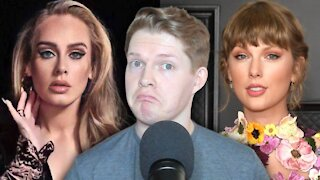 Adele vs. Taylor Swift Album Showdown - '30' vs. 'Red (Taylor's Version)