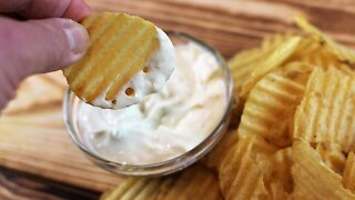 Yogurt parmesan chip dip recipe