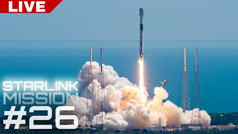 SpaceX Starlink Launch #26   Record-Tying Mission