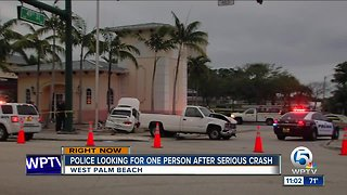 1 person hospitalized in alcohol-related crash in West Palm Beach