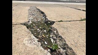 Sidewalk repair could take years once city cites owner
