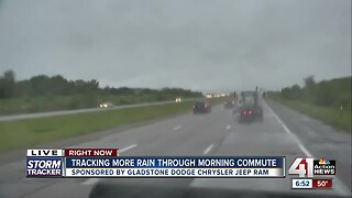 Overnight storms continue into Tuesday, raise flooding concerns