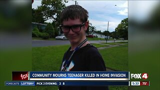 Growing support for family of teen killed during burglary