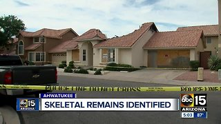 Police identify human remains found in Ahwatukee home