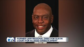 Former UAW official due in court