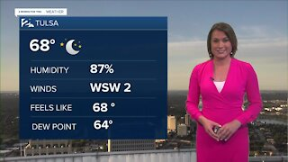 Hot, Less Muggy for Monday