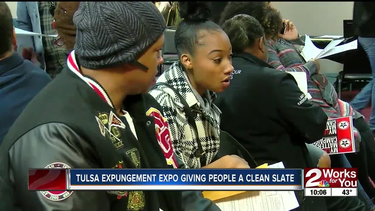 Tulsa Expungement Expo Giving People a Clean State