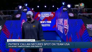 Patrick Callan secures spot on Team USA