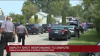 Barricaded gunman situation unfolding in Superior Township, people told to stay inside