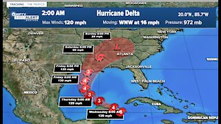 Tropical update: Wednesday 5 a.m