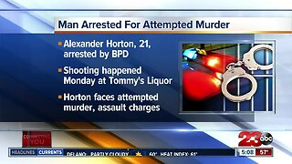 Man arrested for attempted murder in South Bakersfield
