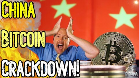 CHINESE CRACKDOWN! - Jim Cramer SCARED Into Selling His Bitcoin! - Will STILL Hit 100k in 2021