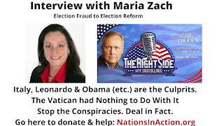Doug's Interview with Maria Zach. March 29, 2021