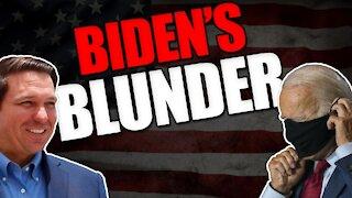 Ron DeSantis destroys Biden's unconstitutional travel ban