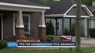Tips for understanding title insurance
