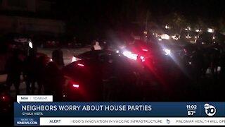 Chula Vista neighborhood worries about house parties