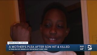 9-year-old boy hit and killed while riding ATV in Detroit