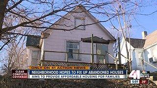 Indian Mound neighborhood hopes to fix up abandoned houses