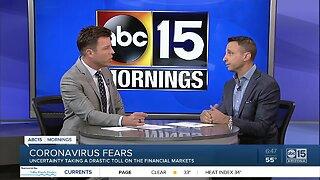 Coronavirus fears: Uncertainty takes toll on financial markets
