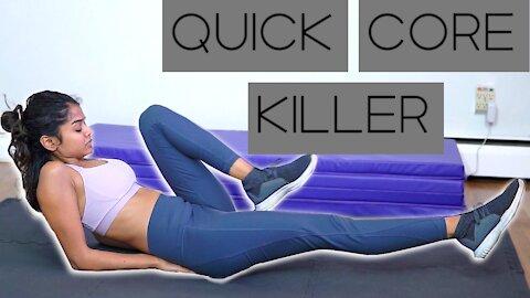 7 Minute Core Workout (HARD)