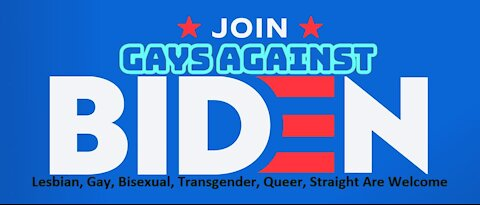 Gays Against Biden We Are the #Resistance Now