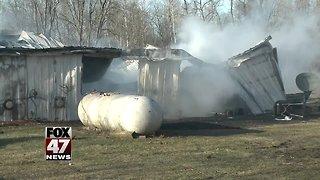 Fire destroys farm housing complex