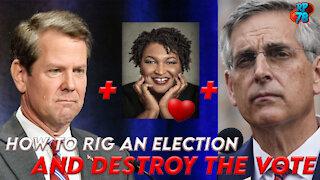 Destroying Georgia, One Vote At A Time - Brad Raffensperger