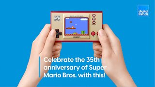 Celebrate the 35th anniversary of Super Mario Bros. with this!