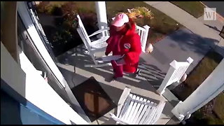 Security Camera Catches Democratic Candidate Stealing Republican Opponent's Flyer