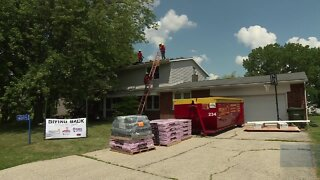 Local veteran gets a new roof