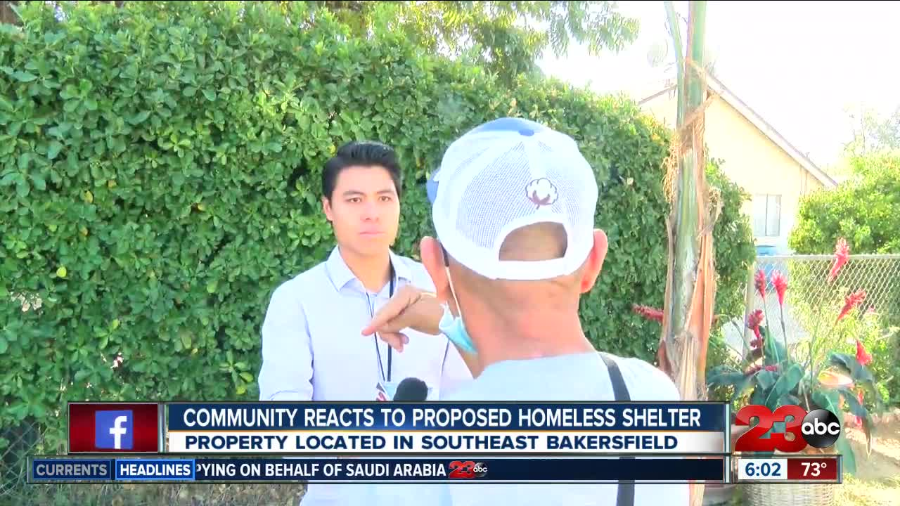 Community reacts to proposed homeless shelter