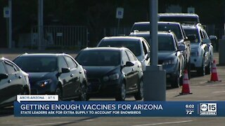 Getting enough COVID-19 vaccines for Arizona