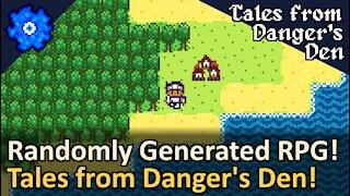 Random RPG Generator! Tales from Danger's Den by McKathlin!