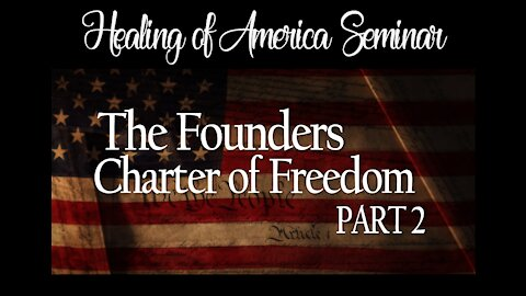 Healing of America Session 2 Part 2