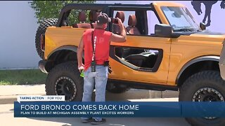 Ford Bronco comes back home