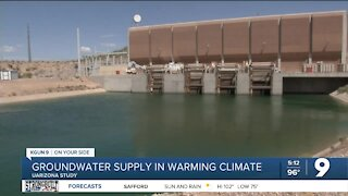Groundwater supply in a warming climate