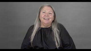 Long Gray Hair: A MAKOVERGUY® Makeover