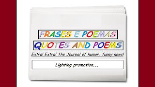 Funny news: Lighting promotion... [Quotes and Poems]