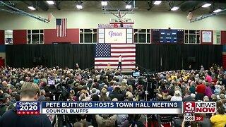 Pete Buttigieg hosts town hall meeting