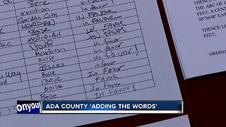 Ada County Commissioners unanimously vote to 'Add the Words'