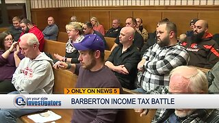 Barberton residents heat up income tax increase battle as deadline closes in