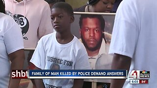Family of man fatally shot by KCPD officer demands justice