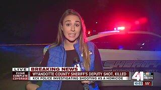 Wyandotte County Sheriff's Deputy shot, killed
