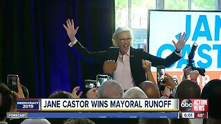 Jane Castor wins runoff, elected Mayor of Tampa